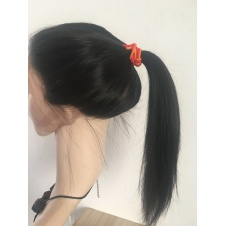 360 frontal straight full lace closure with Adjustment Band