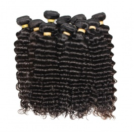 DHL Shipping Wholesale virgin hair Deep Wave 10pcs/lot