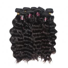 DHL Shipping Wholesale virgin hair Natural Wave 10pcs/lot
