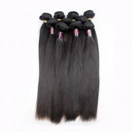 DHL Shipping Wholesale virgin hair Straight 10pcs/lot