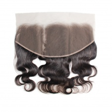 13x6 pre-plucked bodywave lace frontal freepart closure