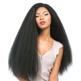 Elesis Virgin hair New Product Kinky Straight unprocessed full bundles 3pcs