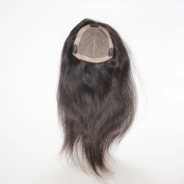 6x6 womans toupee hair pieces replacement monofilament net base with pu perimeter