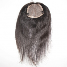 7x7 womens toupee hair pieces replacement monofilament net base with pu perimeter