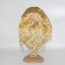 360Frontal blonde #613 body wave ear to ear frontal