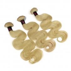 Honey blonde body wave 613color virgin remy hair 3bundles