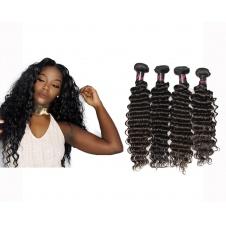 4 Bundles Virgin grade Elesis Virgin Hair Deep Wave Virgin Human Hair
