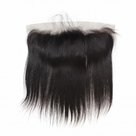 Elesis Straight Lace/Silk base  Frontal Free Part 13x4 Pre Plucked Ear to Ear frontal Closure with Baby Hair