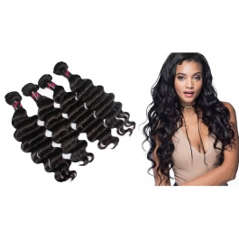 4 Bundles Virgin grade Elesis Virgin Hair Loose Wave Weave Virgin Hair
