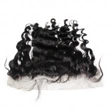 Raw Virgin Hair Top grade 4pcs loose wave Brazilian Human Hair with frontal 13*4 Ear to Ear closure