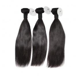 Elesis hair Cheap price Remy hair natural color #1b straight 3 bundles