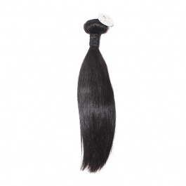 Elesis hair extensions Cheap price Remy hair natural color #1b straight 1bundle