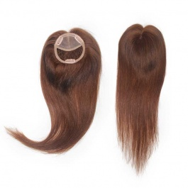 """4""""x4"""" women's customize toupee hair with breathable fine mono Intergration Lines poly coating hair pieces"""
