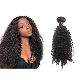 Virgin grade Elesis Virgin Hair Product Virgin grade 1 piece Kinky Curly Human Virgin Hair Extensions