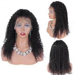 Elesis Hair Brazilian Virgin Human Hair Wigs 150% Density Deep Curly Full Lace Human Hair Wigs For Black Women
