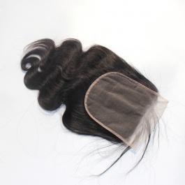 Elesis Remy Hair Closure 6x6 Body wave closure