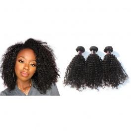 Elesis virgin hair 3 bundles kinky curly small curly virgin hair weave