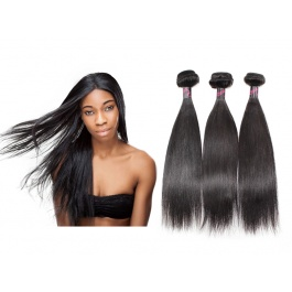 Hot Selling Virgin Hair Top Grade Human Hair Straight 3 Bundles 300g