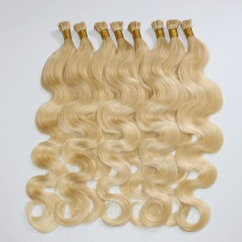 613 Blonde Body Wave hair I-tip extensions 100grams