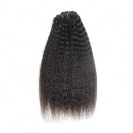 Elesis Virgin Hair Clip in Natural color human hair 9pcs/set 120grams