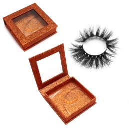 Elesis V Series 3D Real Mink Eyelashes with Square Package Natural Long 5~15mm 100% Handmade Fur Lashes Extension
