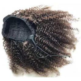 Elesis Virgin Hair High puff ponytail drawstring Virgin Hair ponytail clip in Extensions Hair