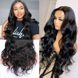 Elesis virgin hair customize wig 4x4 lace frontal wig