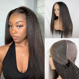 Elesis Virgin Hair customize wig 13x6 lace frontal wig