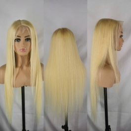 Elesis virgin hair 613 blonde customize wig 13x4 lace frontal wig